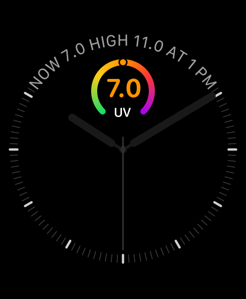 Watch face complications